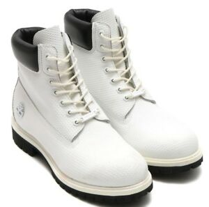 Image is loading Timberland-6-Inch-White-Leather-Premium-Helcor-Waterproof- b7aac1b4ed
