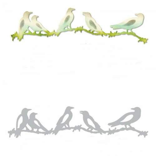 Sizzix Thinlit Die Birds on Branch New
