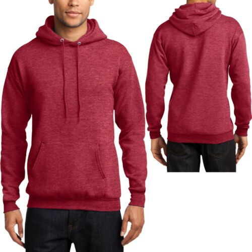 BIG MENS Heather Hoodie Pullover Warm Hooded Sweatshirt 2XL NEW 4XL 3XL