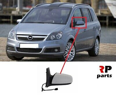 NEW VAUXHALL OPEL ZAFIRA B 08-11 WING MIRROR ELECTRIC HEATED PRIMED RIGHT LHD
