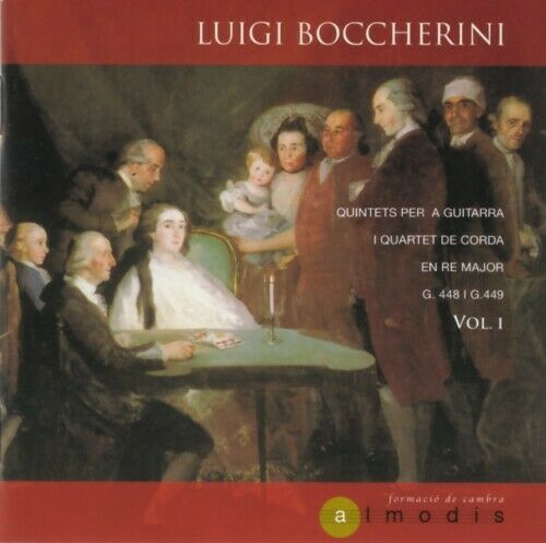 Luigi Boccherini - Quintets per a guitarra (De la Varga/Morata/Mameli)