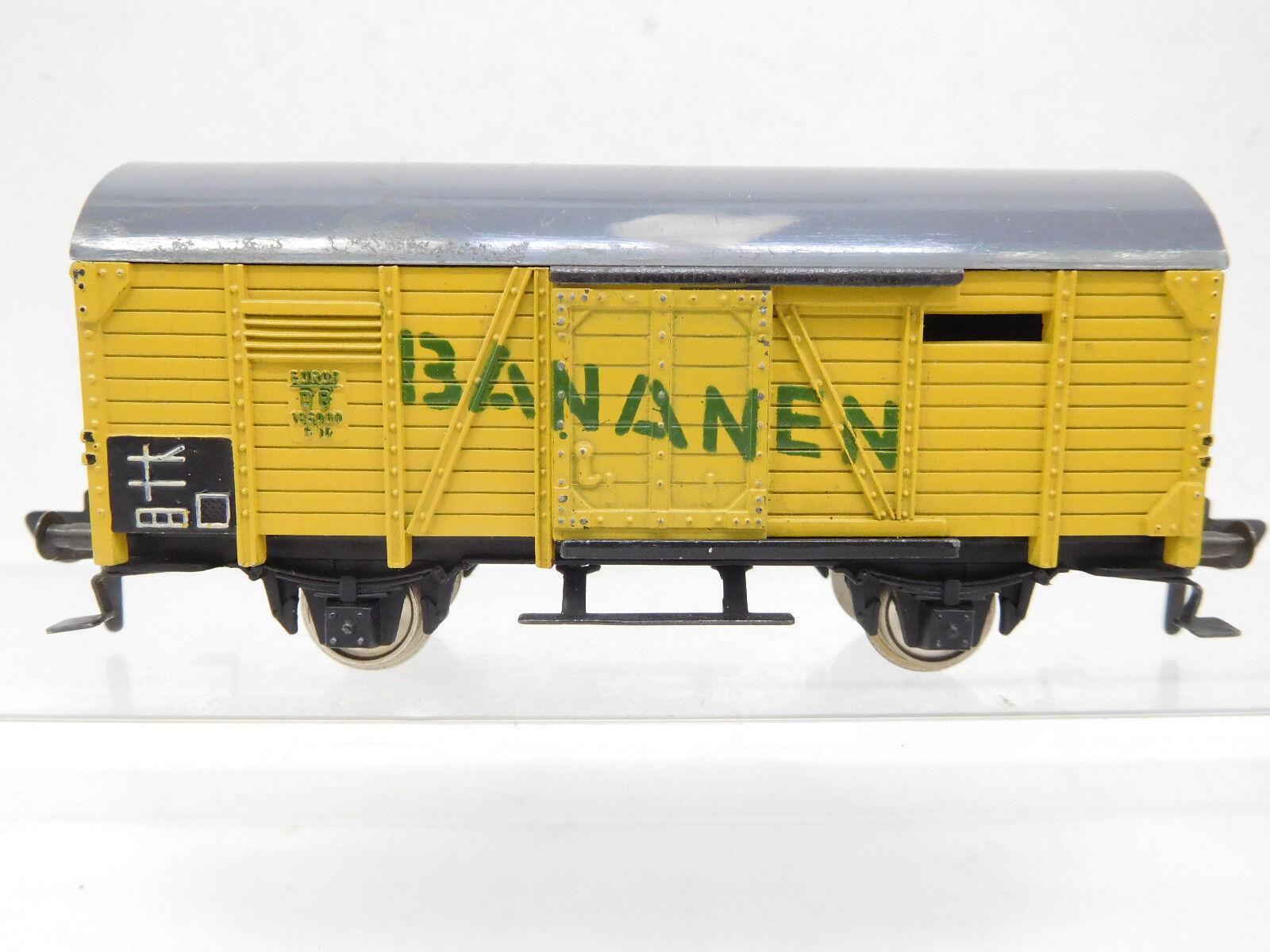 Mes-52949 Fleischmann 1463 h0 carro merci DB banane con lievi segni di usura,