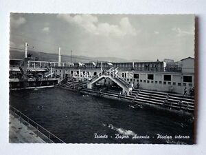 TRIESTE Bagno Ausonia piscina vecchia cartolina   eBay
