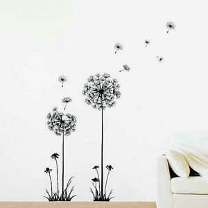 Image Is Loading Creative Dandelion Wall Decal Sticker Removable Mural PVC