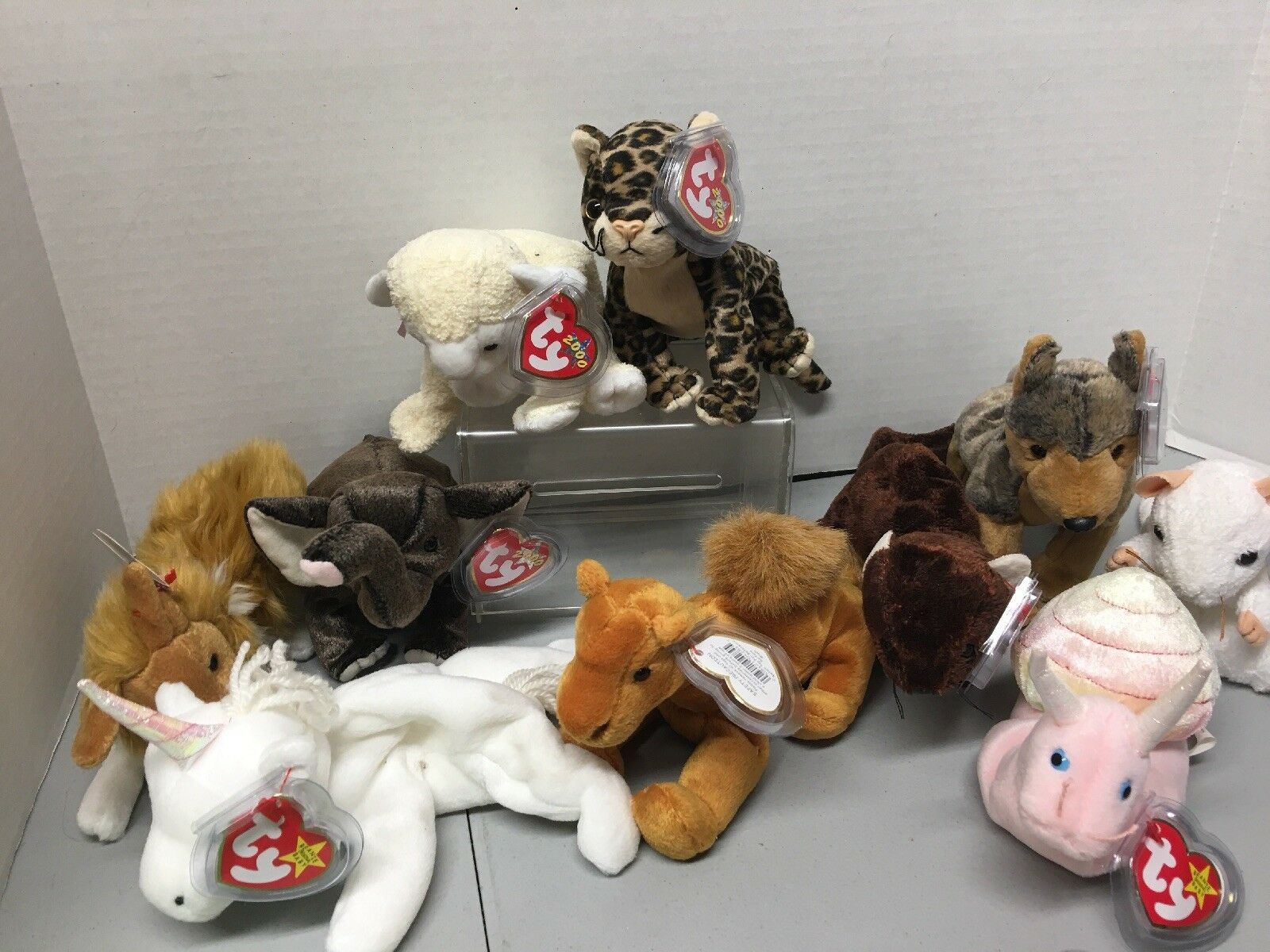 Ty Beanie Baby Sneaky -plus Others.  And A Set.
