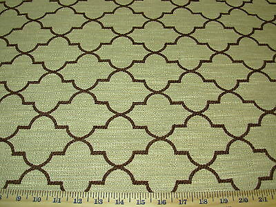 ~1 6/8 YDS~MODERN GEOMETRIC RETRO EAMES ERA~UPHOLSTERY FABRIC~FABRIC FOR LESS~