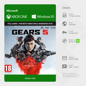 INGRANAGGI-5-Standard-Edition-Xbox-One-Windows-10-PC-codice-digitale-globale