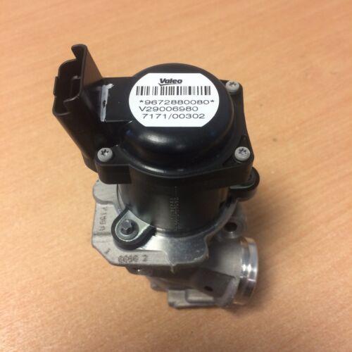 1 of 1 - New genuine EGR valve - Ford Peugeot Citroen Fiat Volvo 1.6 HDi 9672880080