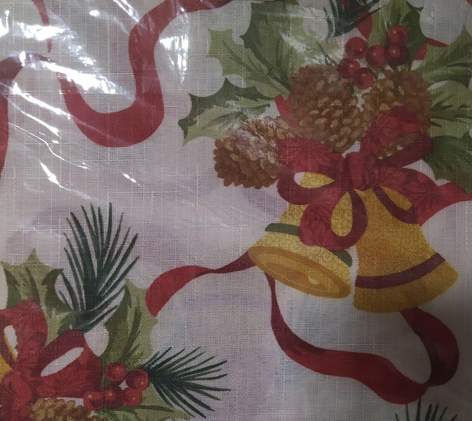 Mantel Navideño Con Decoraciones de Navidad de tela medida de 120cmx150cm España
