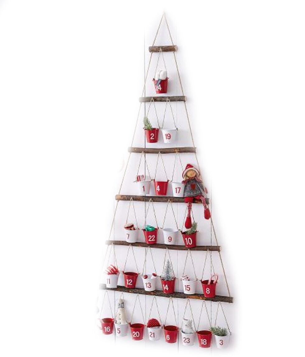 XXL Adventskalender Eimer zum selbst befüllen selbstfüllen NEU Advent Kalender