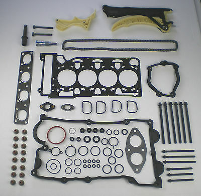 HEAD GASKET SET BOLTS TIMING CHAIN KIT FIT 118i 120i 316i 318i 318ti 318ci X3 Z4
