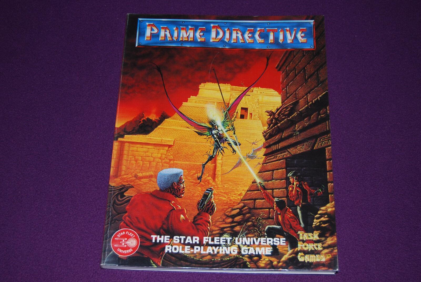 PRIME DIRECTIVE (STAR TREK) RPG JDR Jeu de Role - Star Fleet   Core Rulebook
