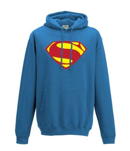 Man of steel dawn of justice and comic Superman logo hero hoodie in 3 styles