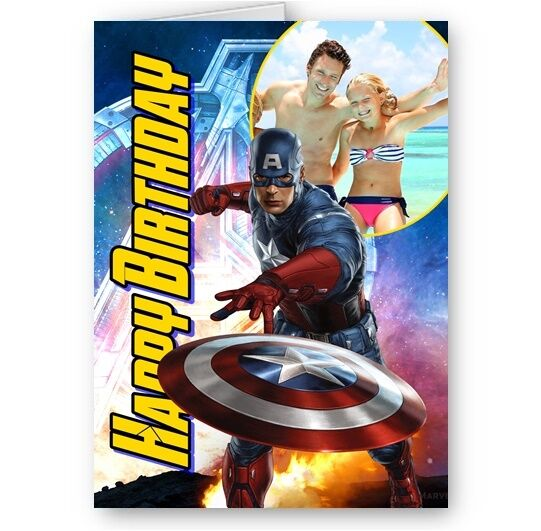 Captain America Birthday Cards collection on eBay
