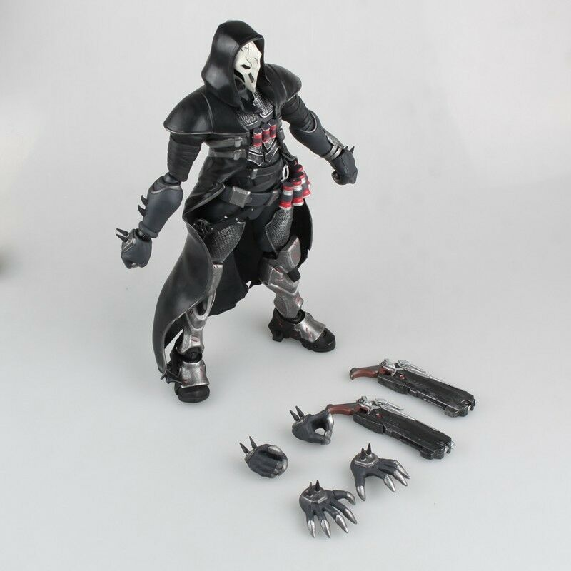 OW Overwatch Reaper Gabriel Reyes PVC Action Figure Model New In Box