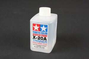 Tamiya 81040 color acrylic paint thinner 250ml craft tools for Wholesale acrylic craft paint