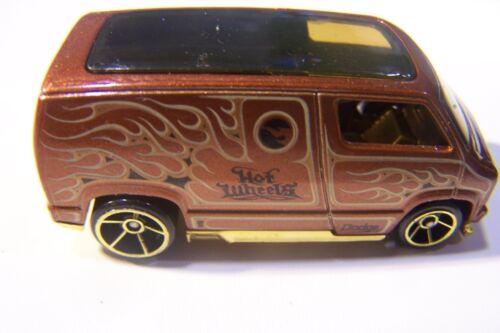 Hot Wheels 2008 New Models #7 Custom /'77 Dodge Van Bronze