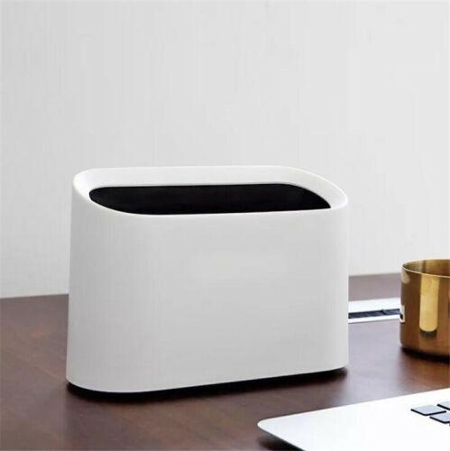 Mini Small Waste Bin For Desktop Garbage Basket Table Trash Can Office HS