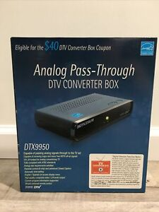 Digital Stream DTX9950 Analog Pass-Through DTV Converter Box