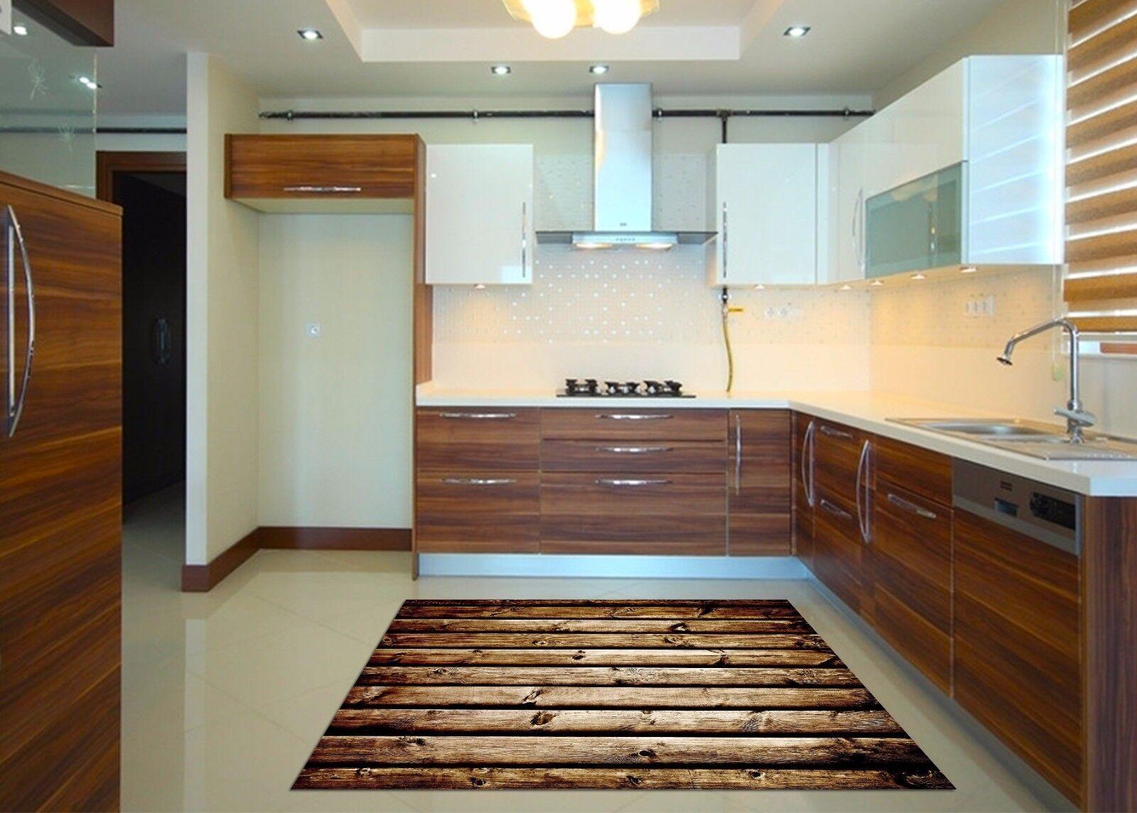 3D Wooden 872 Kitchen Mat Floor Murals Wall Print Wall AJ WALLPAPER AU Kyra