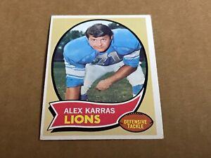 1970-Topps-Set-Break-249-Alex-Karras-Ex-mint-rare-Detroit-lions-legend