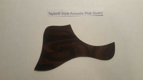 Pickguard for Taylor style acoustic Real Ziricote Wood  Micas Bajo Quinto