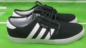 adidas-Men-039-s-Seeley-Black-Skate-Shoe-G66636-Size-11
