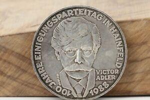 500-Schilling-1988-100-Jahre-Einigungsparteitag-in-Hainfeld-Victor-Adler