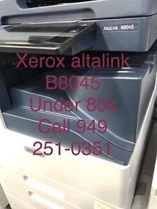 Details about Xerox Altalink B8045,8055,8075,copier,printer,color scan,clean