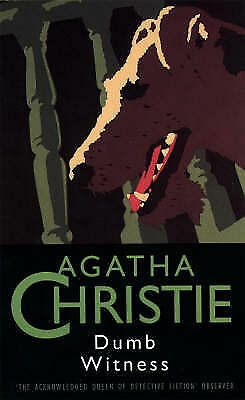 Dumb Witness (The Christie Collection) (Fontana),GOOD Book