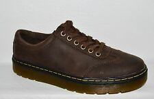 DR. MARTENS WOMEN SZ 9 MEN  8 M 41 BROWN LEATHER OXFORDS PLATFORM SHOES