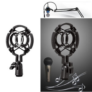 Universal-Mic-Shock-Mount-Clip-Holder-Studio-Registrazione-audio-per-Condense-CR