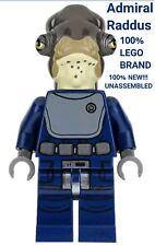 LEGO Star Wars Minifigur Admiral Raddus W Waffe Minfiig 2017 Von Set 75172