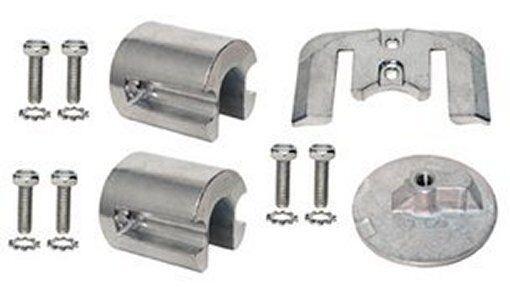Anodensatz Aluminium für Mercruiser Bravo 2 & 3 Anoden ersatz 888761Q03