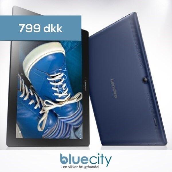 "Lenovo, Lenovo Tab 2 A10-30 10"" Wi-Fi 16GB Blå"