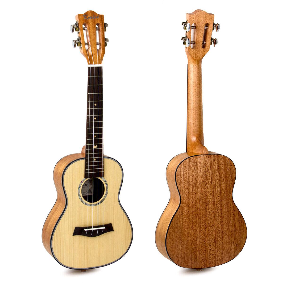 Ukulele Concert Ukelele 23 inch Classical Guitar Solid Spruce Mahogany for Gift