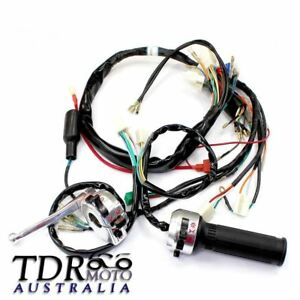 Details about Handle Control Switch Wiring Harness Loom for Honda Monkey on