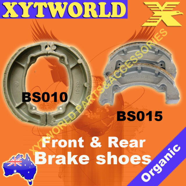 FRONT REAR Brake Shoes YAMAHA IT 125 G H J 1980 1981 1982