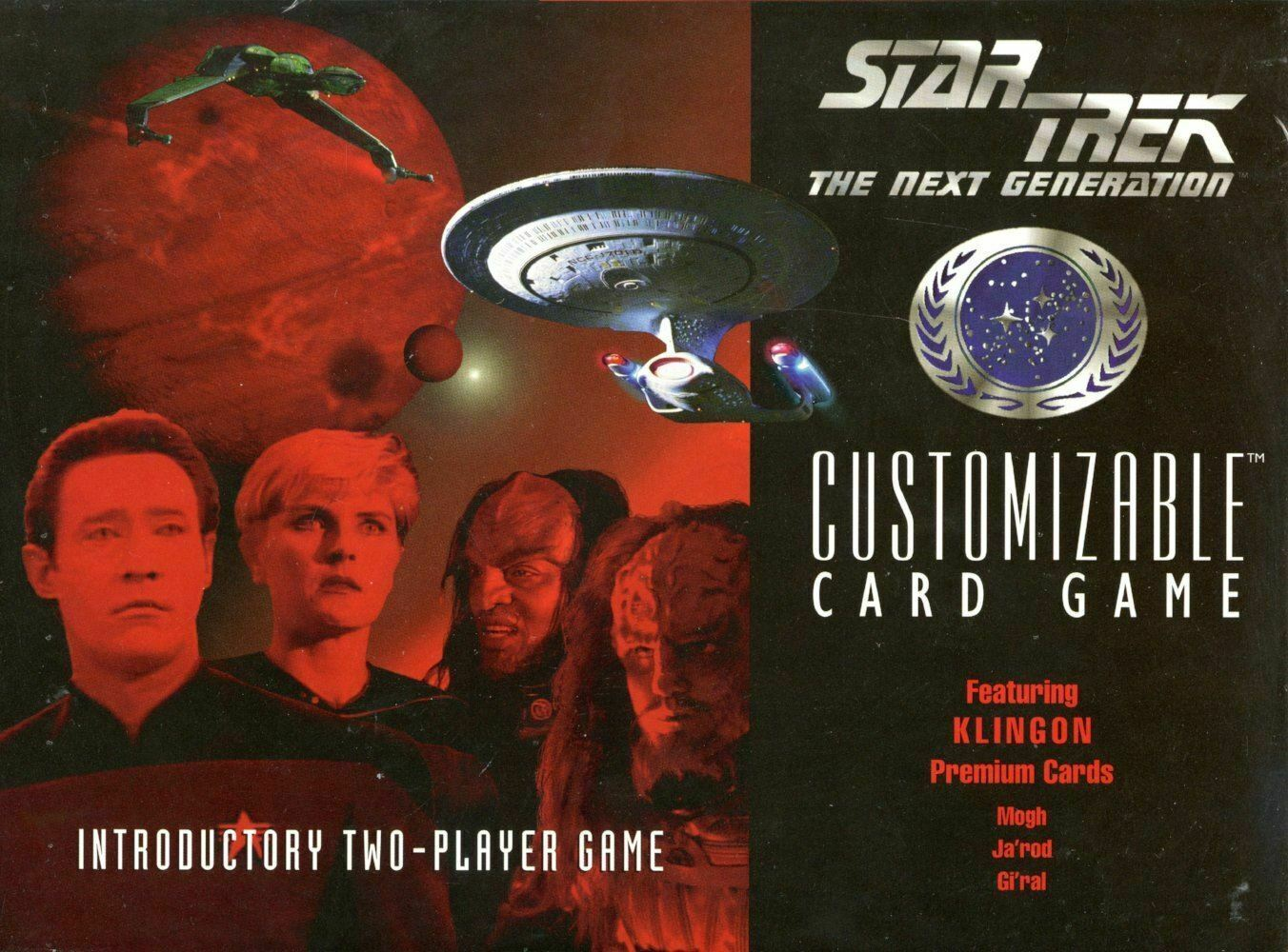 Star Trek CCG Introductory 2 Player Game Gi/'ral