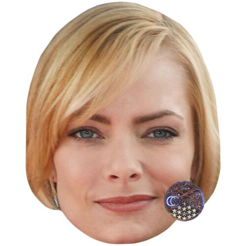 Card Face and Fancy Dress Mask Jaime Pressly Celebrity Mask