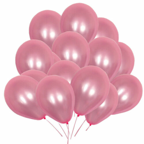 "10/""x100 Large Clear Balloons Helium High Quality Party Birthday Wedding Ballons"