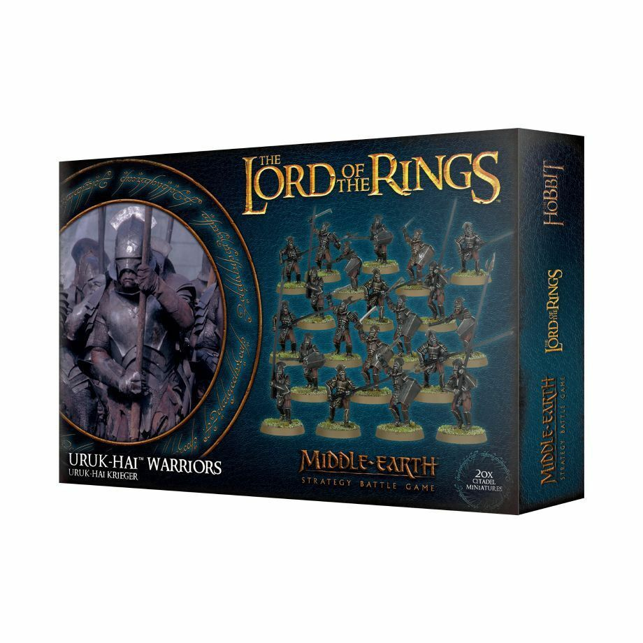 Lord of the Rings Uruk Shark Warrior Games Workshop Lotr Hobbit