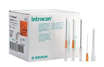 B BRAUN ORIGINAL STERILE INTROCAN PIERCING NEEDLES - 14G 16G 18G 20G