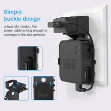 Outlet Wall Mounting Hanger Holder Bracket for Blink Sync Module Black Th941
