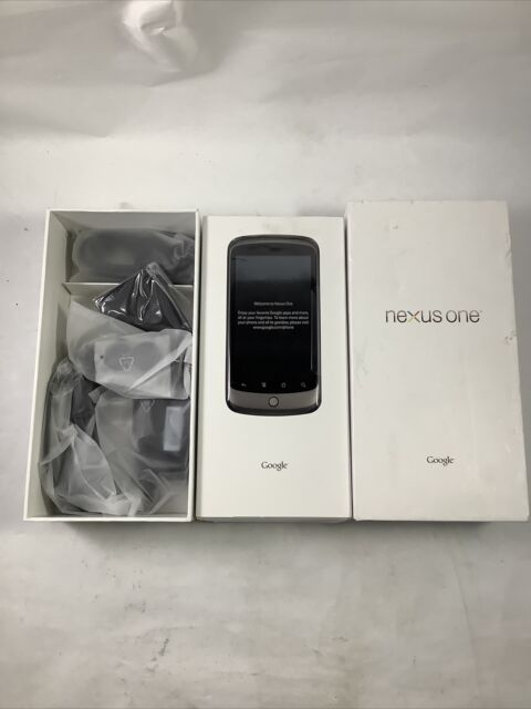 GOOGLE HTC NEXUS ONE PHONE BLACK PB99110 99HKE002-00 - GE F1A