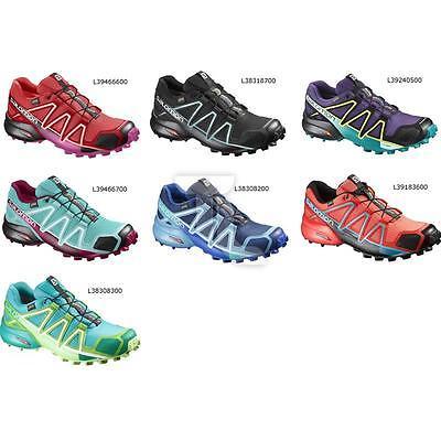 Salomon Gin 4 GTX W Womens Running Shoe New | eBay