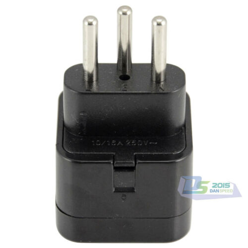 Universal Travel AC Wall Adapter Power Outlet Plug Coverter CH to AU US UK EU