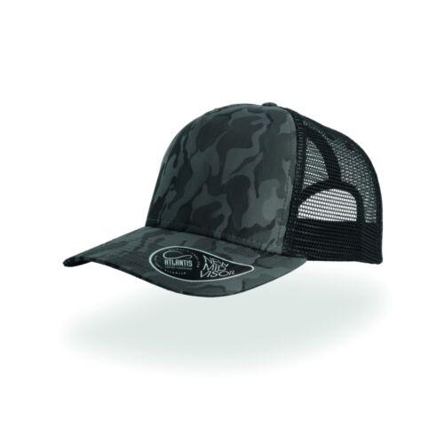 ATLANTIS cappello RAPPER  CAMOU sport BASEBALL cappellino UNISEX BERRETTO cap
