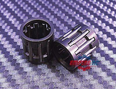 QTY 2 8x11x10 mm Metal Needle Roller Bearing Cage Assemblies 8 11 10 K081110