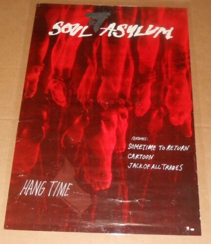 Soul Asylum Hang Time Poster Original Promo 36x24 RARE